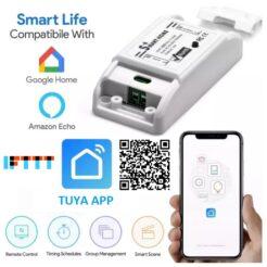 Interruptor inteligente Smart Home - Alexa, Google Assistant, IFTTT