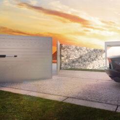 Kit motor batiente Motorline Jag 600 puerta doble hoja