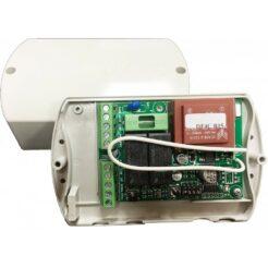 Kit central universal para motor de persiana Rolly con 2 mandos