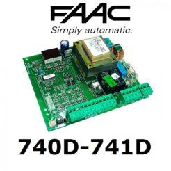Faac 740-741D Central control motor corredera