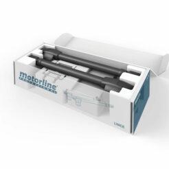 Kit Motorline Lince 600 doble hoja batiente