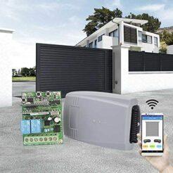 Kit radio receptor WIFI de 2 canales con 2 mandos de garaje