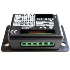 Kit receptor universal NEW RX UNICOM con 2 mandos GM