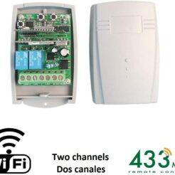 Radio receptor WIFI de 2 canales + RF